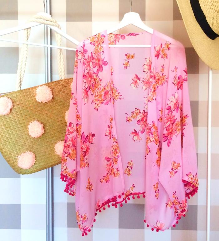 DIY - W czym na plażę, nowości na lato! i jak uszyć kimono plażowe?