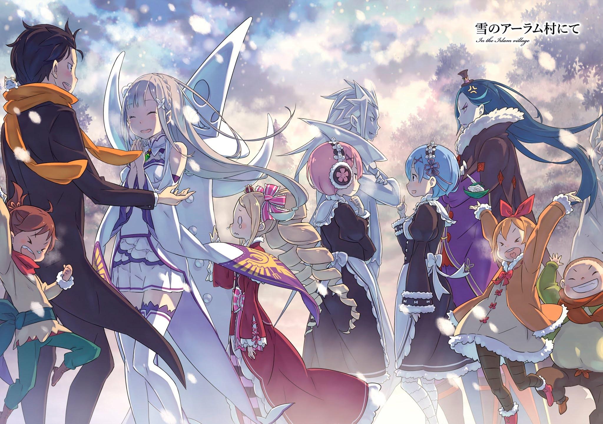 Re:Zero kara Hajimeru Isekai Seikatsu wallpaper