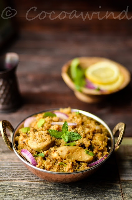 One Pot Quinoa Chicken Pulao