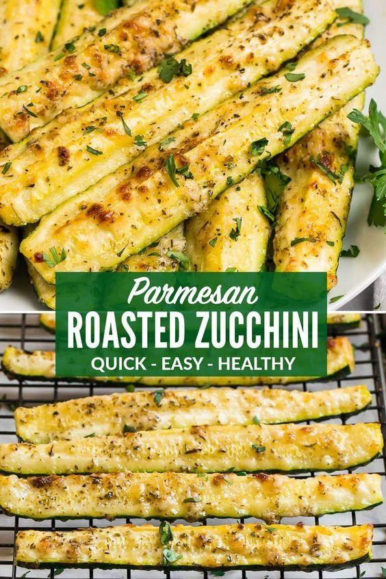 Crispy Roasted Zucchini