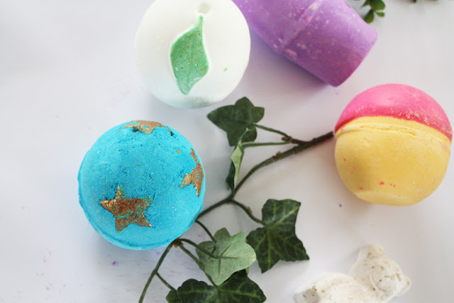 Lush Christmas Bath Bombs