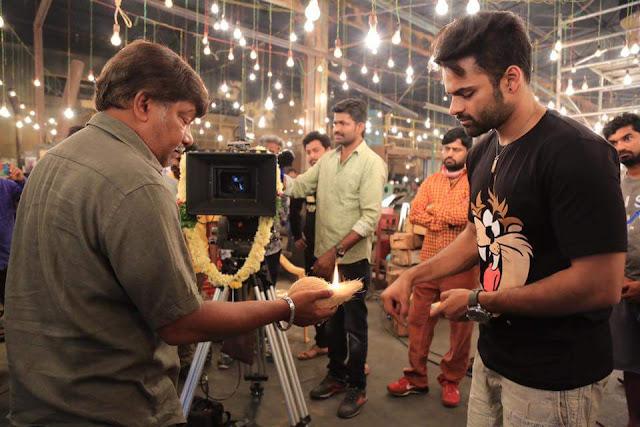 nakshatram movie on the sets Photos