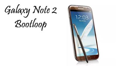 Cara Mengatasi Samsung Galaxy Note II GT Cara Menghidupkan Samsung Galaxy Note 2 GT-N7100 Bootloop
