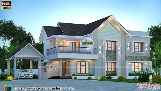 4 bedrooms 2690 sq. ft. modern home design