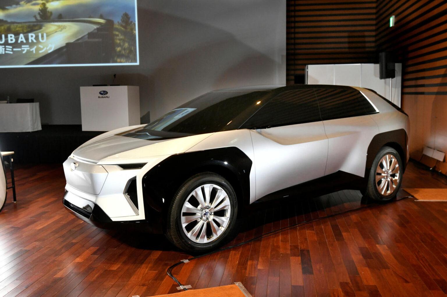 سيارة Solterra كروس الكهربائية