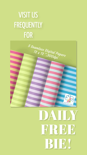 Daily Freebie Day 13 Striped Papers