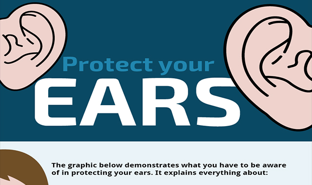 9 Ways to Protect Your Ears and Hearing Health #infographic