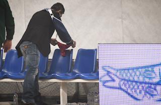 ΠΑΟ – Ολυμπιακός: Άφησε κόκκινο… στριvγκ στον πάγκο του Ολυμπιακού ο Γιαννακόπουλος!