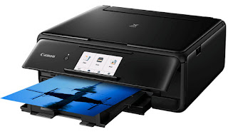 split upwards printer ink cartridges for stamping photographs of exhibition character at habitation Canon PIXMA TS8140 Drivers Download