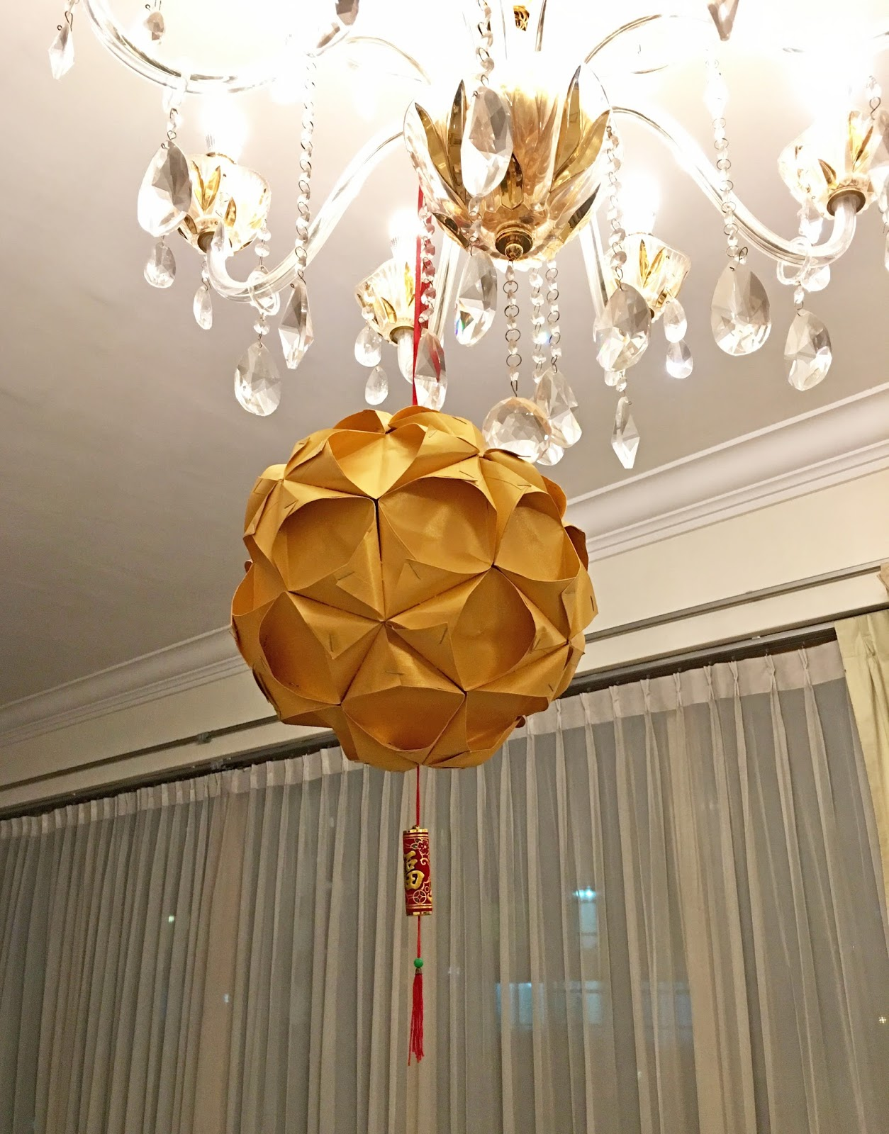 Chinese new year craft ang pow ball lantern tutorial for Ang pow decoration craft work
