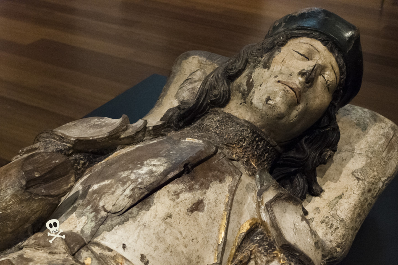 Efigie funeraria de Luis Pimentel y Pacheco, I Marqués de Villafranca