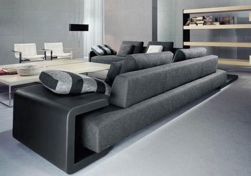 Decoracion actual de moda sillones de sala ultra modernos for Muebles de sala de moda