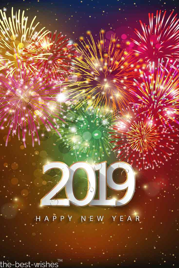 wish you happy new year to family