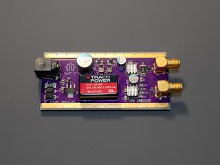 Placa do amplificador de potência OpRF II.