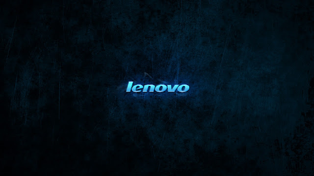 Dark Lenovo Computer Wallpaper