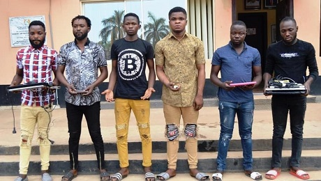 EFCC Arrests Seven More Suspected Internet Fraudsters In Ibadan [Photos]