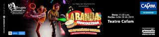 LA BANDA PAPAYAZZERA en Teatro Cafam Bogotá