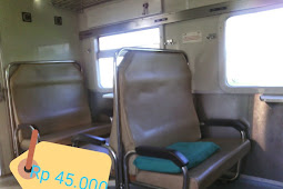 Naek Kereta Api Harga 45 Ribu Brantas Mesen Lewat Traveloka