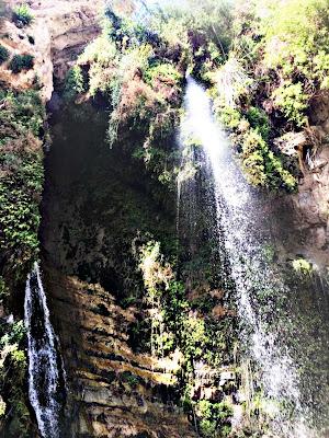 Waterfalls of En Gedi Israel