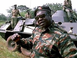 Idi Amin Ugandan separatist dictator