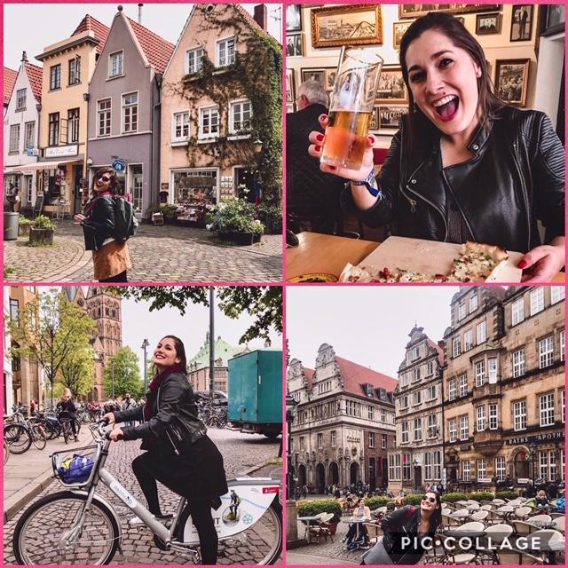 A linda Bremen, na Alemanha!