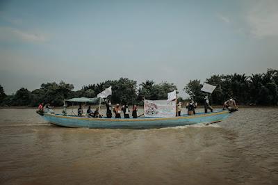 Global Qurban ACT Palembang, Layarkan Kapal antar Daging Qurban ke Tepian Musi
