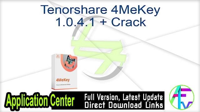 Tenorshare ReiBoot Pro 7.5.7.2 + Keygen