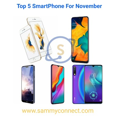 Top 5 Smart Phone You Need To Buy For The Month Of November 2019 #Jumia