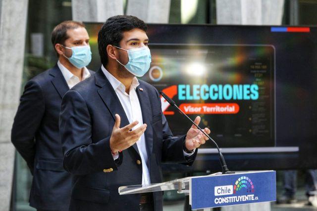 Ministros Julio Isamit y Jaime Bellolio