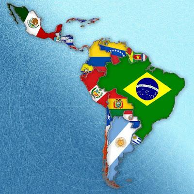 La nación y su geografía, en un mapa.