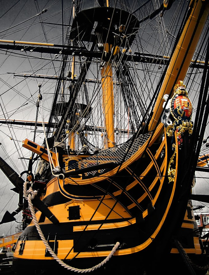 HMS Victory - Over the two centuries since Victory's launch, numerous admirals have hoisted their flag in her