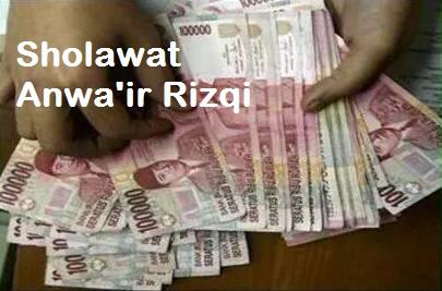 Sholawat Anwair Rizqi, Untuk Meluaskan Rejeki