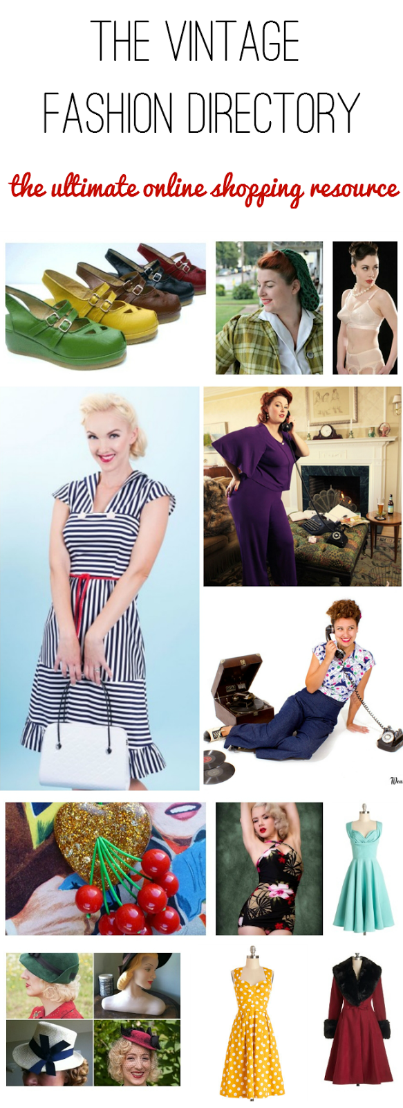 the vintage fashion directory the ultimate online shopping resource for retro style clothes