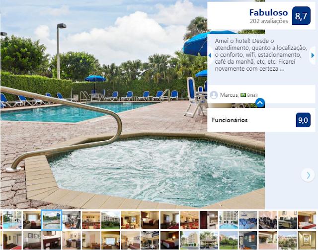 Hotel Comfort Suites Miami: piscina