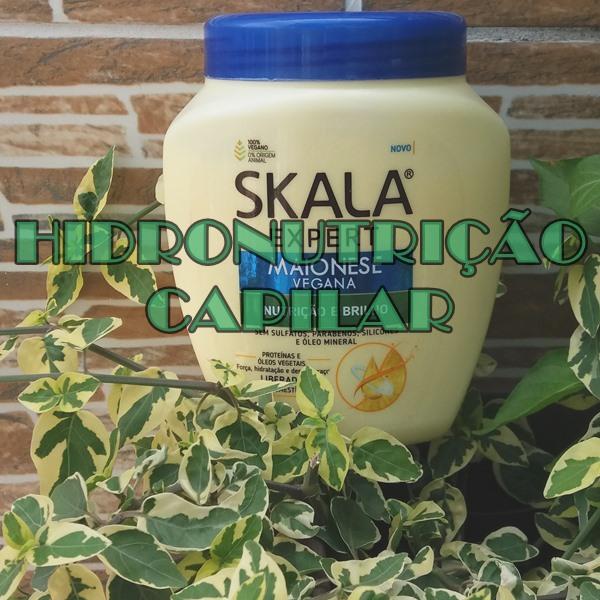 Resenha-hidronutrição-capilar-com-Maionese-vegana-da-Skala-Expert