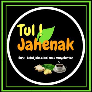 Logo Jamu Jahe Instan Tul! Jahenak asal cindaga