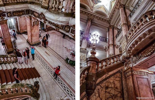 Escadaria do Theatro Municipal do Rio de Janeiro
