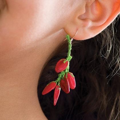 Red-hot Earrings