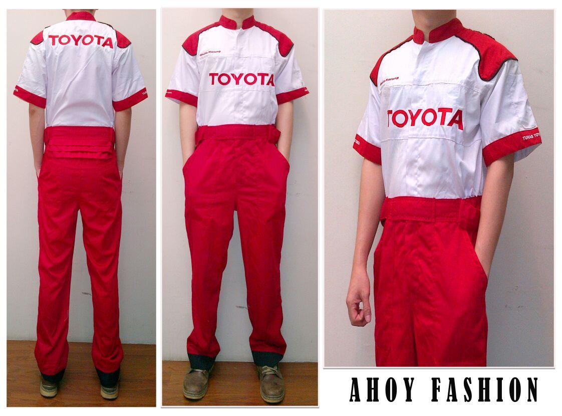 """AHOY Fashion: Contoh seragam bengkel """" WEARPACK"""