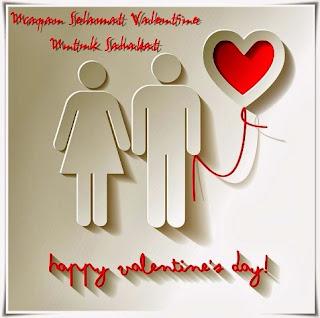 Kumpulan Gambar Kartu Ucapan Selamat Hari Valentine Untuk Sahabat