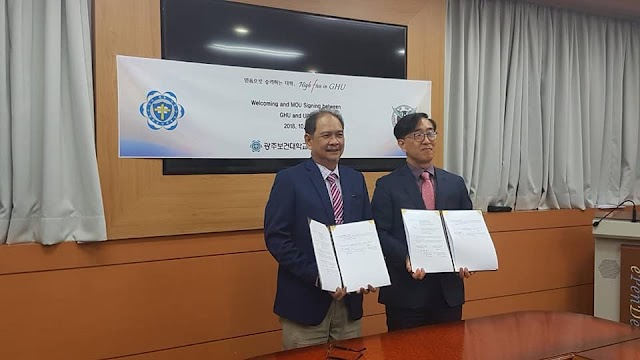 UPCD Signs MOU with GHU Gwangju Health University of Korea
