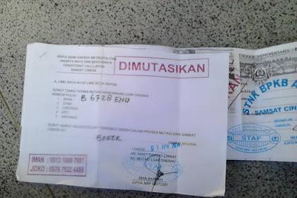 Biro Jasa Mutasi Kendaraan di Lampung