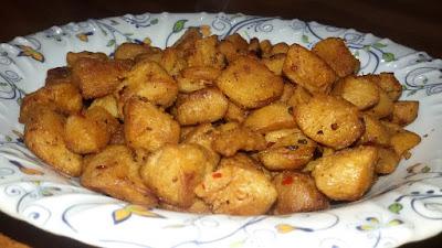 Crunchy Soya Chunks Salad Recipe