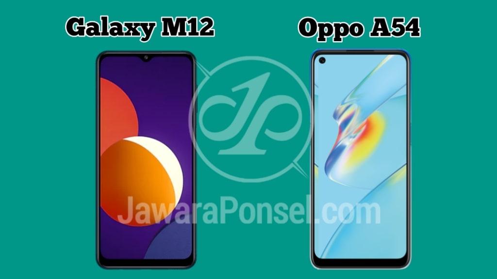 Samsung Galaxy M12 VS Oppo A54