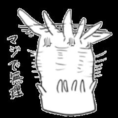 doodling rabbit