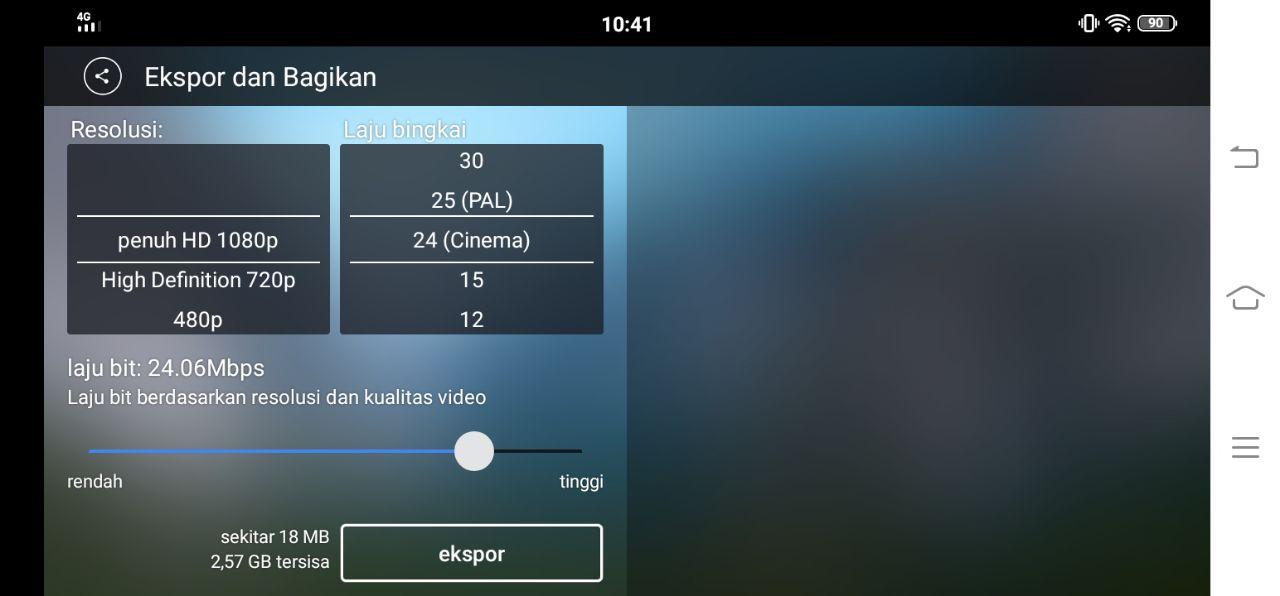 Cara Menggunakan Aplikasi Kinemaster di Android