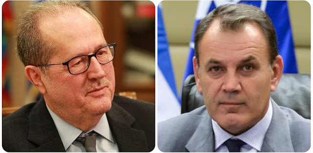 Συναντηση του Περιφερειάρχη Πελοποννήσου με τον υπουργό Εθνικής Άμυνας