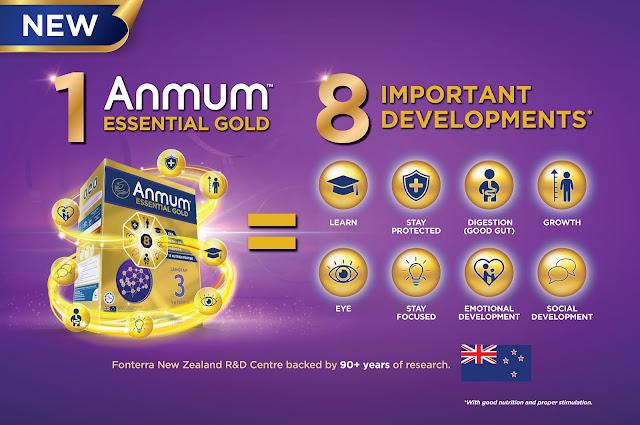 Anmum ESSENTIAL GOLD Mengimbangi Tumbesaran dan Perkembangan Generasi Alfa