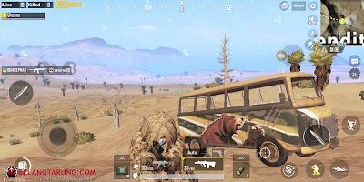 PUBG Mobile Miramar Gameplay Screenshot
