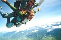 Me skydiving in Australia